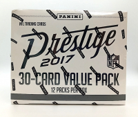 2017 Panini Prestige Football Fat Pack Box with (12) Packs (Factory Sealed) at PristineAuction.com