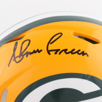 Ahman Green Signed Packers Full-Size Authentic On-Field Speed Helmet (Beckett COA) at PristineAuction.com