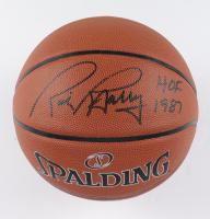 "Rick Barry Signed NBA Basketball Inscribed ""HOF 1987"" (JSA COA) at PristineAuction.com"