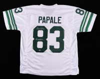 """Vince Papale Signed Jersey Inscribed """"Invincible"""" (TriStar Hologram) at PristineAuction.com"""