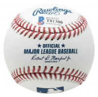 """Fred Haise Signed OML Baseball Inscribed """"Apollo 13"""" (Beckett COA) at PristineAuction.com"""