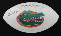 Jevon Kearse Signed Florida Gators Logo Football (JSA COA) (See Description) at PristineAuction.com