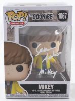 "Sean Astin Signed ""The Goonies"" #1067 Funko Pop! Vinyl Figure Inscribed ""Mikey"" (Beckett COA) (See Description) at PristineAuction.com"