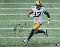 Davante Adams Signed Packers 16x20 Photo (Beckett Hologram) at PristineAuction.com
