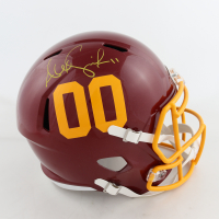 Alex Smith Signed Washington Full-Size Authentic On-Field Speed Helmet (Beckett COA) (See Description) at PristineAuction.com