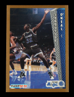 Shaquille O'Neal Signed 1992-93 Fleer #401 RC at PristineAuction.com
