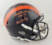 "Dick Butkus Signed Bears Full-Size Throwback Speed Helmet Inscribed ""Bear for Life"" & ""HOF 79"" (Beckett COA) at PristineAuction.com"