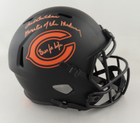 """Dick Butkus Signed Bears Full-Size Eclipse Alternate Speed Helmet Inscribed """"Monsters of the Midway"""" & """"Bear for Life"""" (Beckett COA) at PristineAuction.com"""