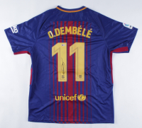 Ousmane Dembele Signed Barcelona Jersey (Beckett COA) at PristineAuction.com
