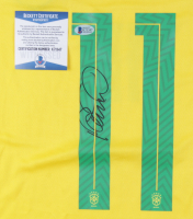Philippe Coutinho Signed Brazil Jersey (Beckett COA) at PristineAuction.com