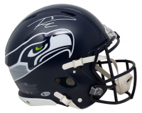 Russell Wilson Signed Seahawks Full-Size Authentic On-Field Speed Helmet (Beckett COA & Wilson Hologram) at PristineAuction.com