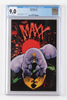 1993 The Maxx Issue #1 Marvel Comic Book (CGC 9.0) at PristineAuction.com
