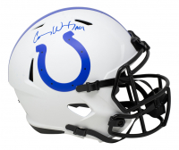 "Carson Wentz Signed Colts Full-Size Lunar Eclipse Alternate Speed Helmet Inscribed ""AO1"" (Fanatics Hologram) at PristineAuction.com"