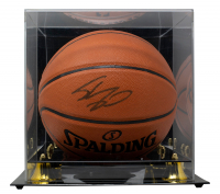 Shaquille O'Neal Signed NBA Game Ball Series Basketball With Display Case (JSA COA) at PristineAuction.com