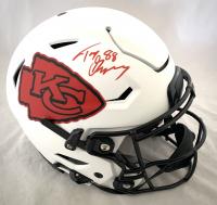 Tony Gonzalez Signed Chiefs Full-Size Authentic On-Field Lunar Eclipse Alternate Speedflex Helmet (Beckett Hologram) at PristineAuction.com