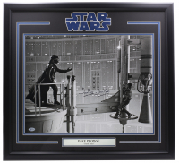 """Dave Prowse Signed """"Star Wars"""" 24x30 Custom Framed Photo Inscribed """"Is Darth Vader"""" (Beckett COA) at PristineAuction.com"""