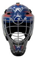 Henrik Lundqvist Signed Capitals Full-Size Goalie Mask (Fanatics Hologram) at PristineAuction.com