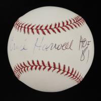 "Ernie Harwell Signed OML Baseball Inscribed ""HOF 81"" (JSA COA) at PristineAuction.com"