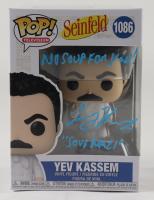 "Larry Thomas Signed ""Seinfeld"" #1086 Yev Kassem Funko Pop! Vinyl Figure Inscribed ""No Soup For You!"" & ""Soup Nazi"" (Beckett Hologram) at PristineAuction.com"