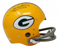 "Bart Starr Signed Packers Full-Size Throwback Suspension Helmet Inscribed ""MVP SB I, II"" (JSA COA) at PristineAuction.com"