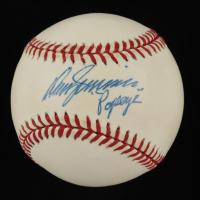 "Don Zimmer Signed ONL Baseball Inscribed ""Popeye"" (JSA COA) at PristineAuction.com"