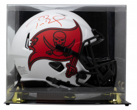 Tom Brady Signed Buccaneers Full-Size Authentic On-Field Lunar Eclipse Alternate Speed Helmet With Display Case (Fanatics Hologram) at PristineAuction.com