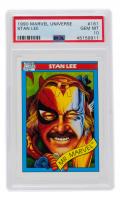 Stan Lee 1990 Marvel Universe I #161 Mr. Marvel (PSA 10) at PristineAuction.com