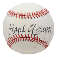 Hank Aaron Signed ONL Baseball (Beckett LOA) at PristineAuction.com