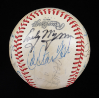 Hall of Famers & Stars ONL Baseball Team-Signed by (12) with Ted Williams, Early Wynn, Carlton Fisk, Rickey Henderson (JSA LOA) at PristineAuction.com