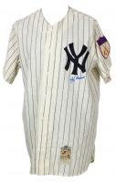 Yogi Berra Signed Yankees Mitchell & Ness Jersey (Steiner COA) at PristineAuction.com