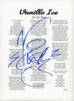 Vanilla Ice Signed 8x10 Photo (JSA COA) at PristineAuction.com