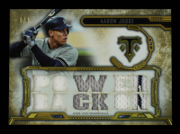 Aaron Judge 2020 Topps Triple Threads Relics Gold #TTRAJ2 #6/9 at PristineAuction.com