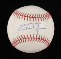 Miguel Amaya Signed OML Baseball (JSA COA) (See Description) at PristineAuction.com