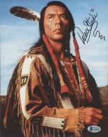 "Wes Studi Signed ""Crazy Horse"" 8x10 Photo (Beckett COA) at PristineAuction.com"