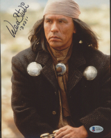 """Wes Studi Signed """"Geronimo: An American Legend"""" 8x10 Photo Inscribed """"2021"""" (Beckett COA) at PristineAuction.com"""
