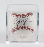 Michael Jordan Signed OML Baseball with Display Case (JSA LOA) at PristineAuction.com