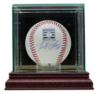 Miguel Cabrera Signed OML Hall of Fame Baseball With Display Case (JSA COA) at PristineAuction.com