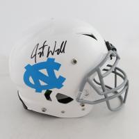 Javonte Williams Signed North Carolina Tar Heels Full-Size Authentic On-Field Vengeance Helmet (Beckett COA) (See Description) at PristineAuction.com