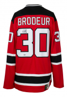 Martin Brodeur Signed Devils Fanatics Jersey (Fanatics Hologram) at PristineAuction.com