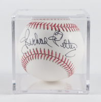 Richard Petty Signed OML Baseball with Display Case (JSA COA) at PristineAuction.com