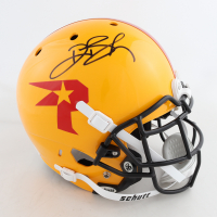 Deion Branch Signed Full-Size Authentic On-Field Helmet (Beckett COA) at PristineAuction.com