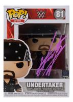 The Undertaker Signed WWE #81 Funko Pop! Vinyl Figure (JSA COA & The Undertaker Hologram) at PristineAuction.com