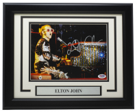 Elton John Signed 11x14 Custom Framed Photo (PSA COA) at PristineAuction.com