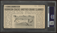 """Brooks Robinson Signed 1964 Topps Giant Card Inscribed """"1970 WS MVP"""" (PSA Encapsulated) at PristineAuction.com"""