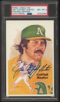 """Jim """"Catfish"""" Hunter Signed LE Hall of Fame Perez-Steele Galleries Postcard (PSA Encapsulated) at PristineAuction.com"""