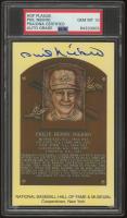 Phil Niekro Signed Hall of Fame Plaque Postcard (PSA Encapsulated) at PristineAuction.com