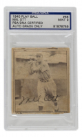 Mel Ott Signed 1940 Play Ball #88 (PSA Encapsulated) at PristineAuction.com