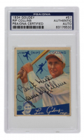"""James Collins Signed 1934 Goudey #51 RC Inscribed """"Best Wishes"""" (PSA Encapsulated) at PristineAuction.com"""