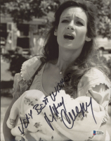 """Mary Crosby Signed """"Dallas"""" 8x10 Photo Inscribed """"Very Best Wishes"""" (Beckett COA) at PristineAuction.com"""