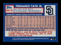 Fernando Tatis Jr. 2019 Topps Update '84 Topps #848 at PristineAuction.com